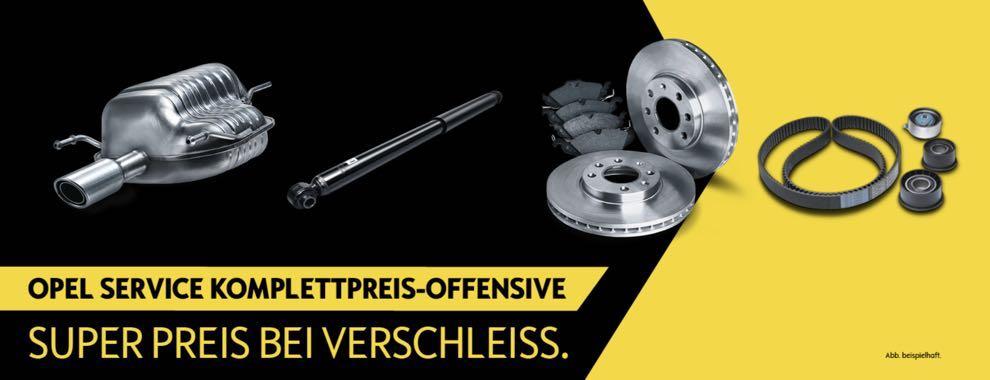 Opel Komplettpreis-Offensive