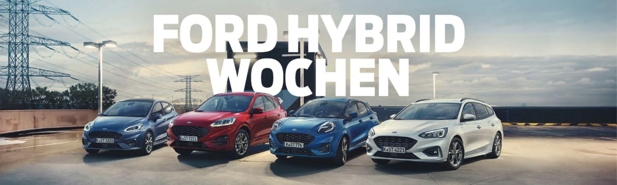 Ford Hybrid-Wochen