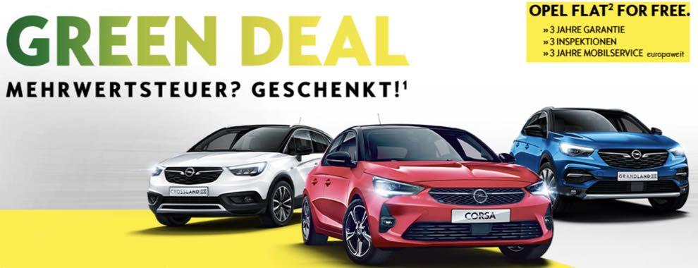 Der Opel Green Deal