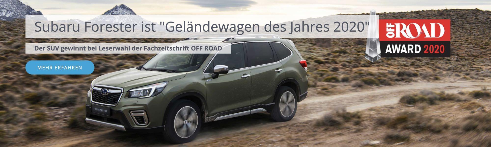 Der neue Subaru Forester