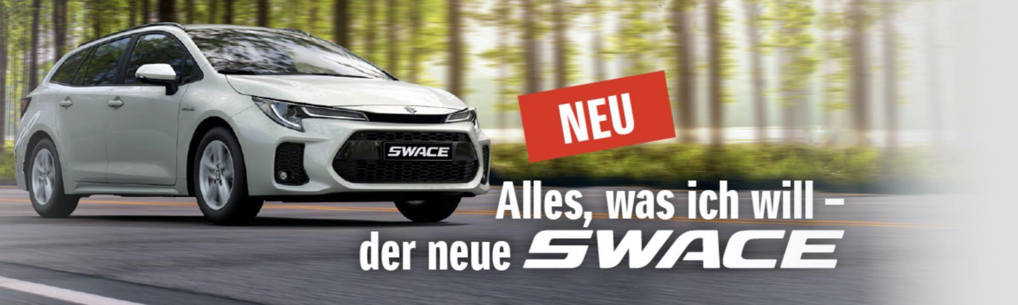 Der neue Suzuki Swace