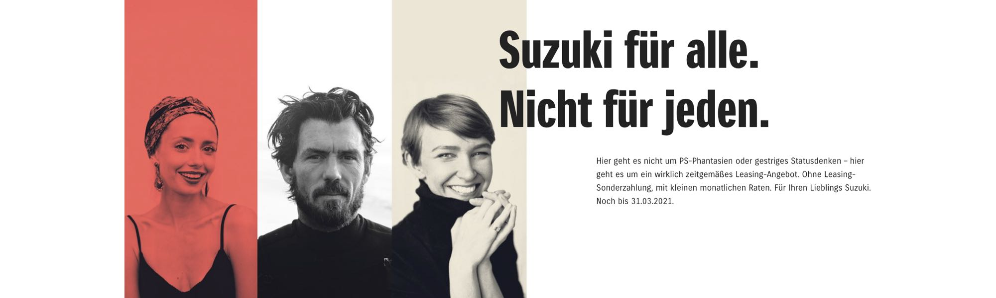 Suzuki-Leasing-Wochen