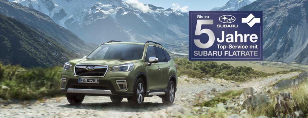 Subaru Service-Flatrate - Die beste Vorsorge für Ihren neuen Subaru