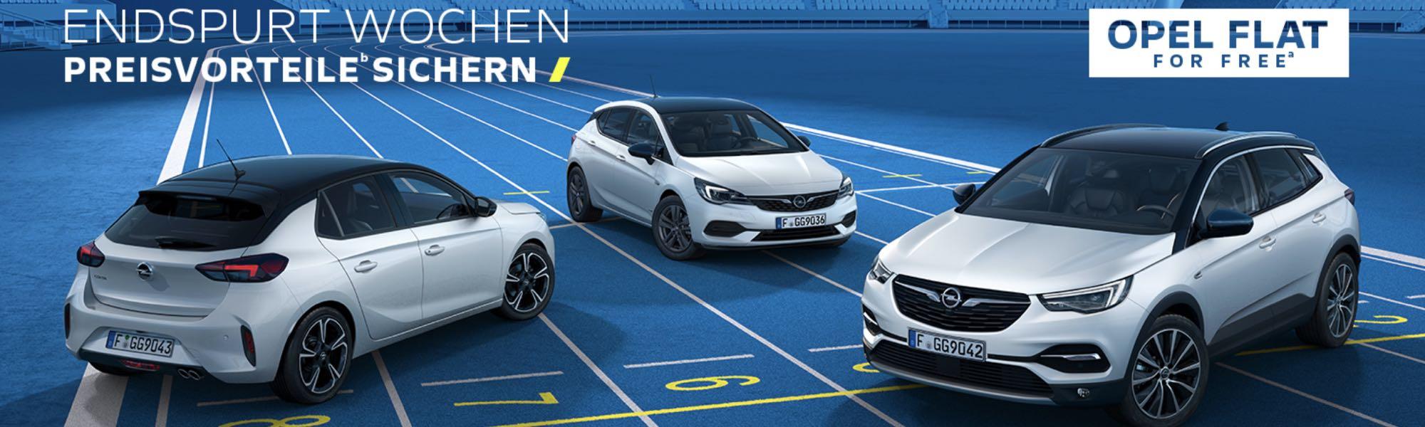 Opel Endspurt-Wochen