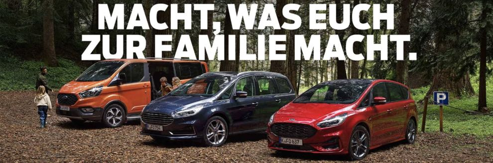 Ford Familienmodelle Leasing-Angebote