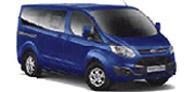 Das Bild zeigt den Ford Tourneo Custom. Es ist gleichzeitig eine Schaltfläche.