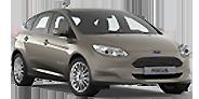 Das Bild zeigt den Ford Focus Electric. Es ist gleichzeitig eine Schaltfläche.