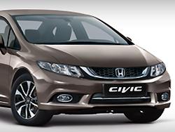 Ein Bild des Honda Civic Limousine