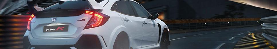 Das Bild zeigt ein Fahrzeug der Marke Honda