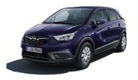 Das Bild zeigt den Opel Crossland X. Es ist gleichzeitig eine Schaltfläche.