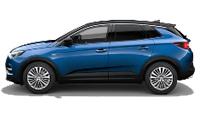 Das Bild zeigt den Opel Grandland X. Es ist gleichzeitig eine Schaltfläche.