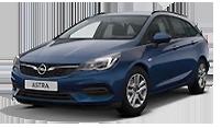 Das Bild zeigt den Opel Astra Sports Tourer. Es ist gleichzeitig eine Schaltfläche.