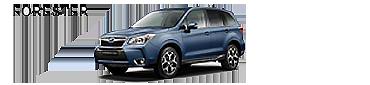 Schaltfläche zur Beschreibung des Fahrzeugs Subaru Forester