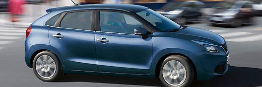 Das Bild zeigt ein Fahrzeug der Marke suzuki